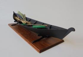 NERETVANSKA TRUPA (boat from the river Neretva)  50cm  1:8
