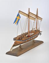 Swedish Gunboat