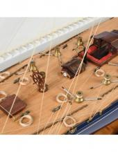 America`s Cup_ J-Class Endeavour 1:50 - pre-built wooden hull